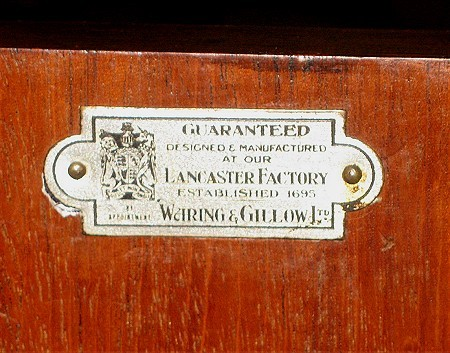 Waring Amp Gillow Side Cupboards Antiques Atlas