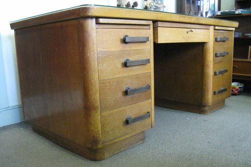 art deco office desk. art deco desk abbess office vintage antique desks bureaus davenports u0026 writing tables d