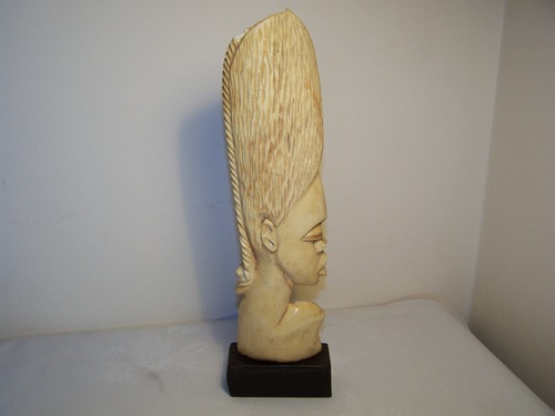 Antiques Atlas Huge Carved African Ivory Head A F